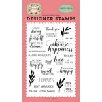 Carta Bella Paper - Botanical Garden Collection - Clear Photopolymer Stamps - Stand Tall