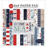 Carta Bella Paper - By The Sea Collection - 6 x 6 Paper Pad