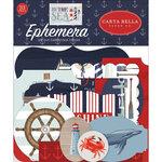 Carta Bella Paper - By The Sea Collection - Ephemera