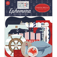 Carta Bella Paper - By The Sea Collection - Ephemera