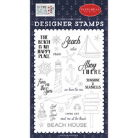 Carta Bella Paper - By The Sea Collection - Clear Photopolymer Stamps - Ahoy There