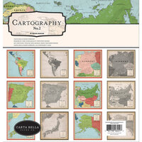Carta Bella Paper - Cartographer No. 2 Collection - 12 x 12 Collection Kit