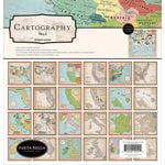 Carta Bella Paper - Cartography No. 1 Collection - 12 x 12 Collection Kit