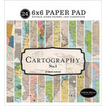 Carta Bella Paper - Cartography No. 1 Collection - 6 x 6 Paper Pad