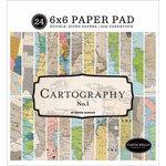 Carta Bella Paper - Cartography No. 1 Collection - 6 x 6 Paper Pad
