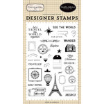 Carta Bella Paper - Cartography No. 1 Collection - Clear Photopolymer Stamps - See The World