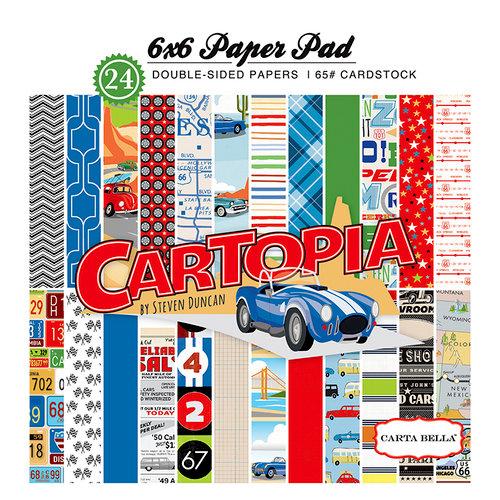 Carta Bella Paper - Cartopia Collection - 6 x 6 Paper Pad