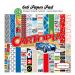 Carta Bella Paper - Cartopia Collection - 6 x 6 Paper Pad