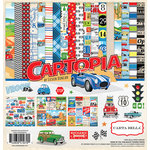 Carta Bella Paper - Cartopia Collection - 12 x 12 Collection Kit