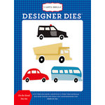Carta Bella Paper - Cartopia Collection - Designer Dies - On the Road