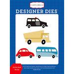 Carta Bella Paper - Cartopia Collection - Designer Dies - On the Road