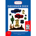 Carta Bella Paper - Cartopia Collection - Designer Dies - Route 66