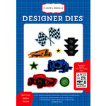 Carta Bella Paper - Cartopia Collection - Designer Dies - Start Your Engine