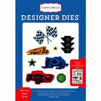 Carta Bella Paper - Cartopia Collection - Designer Dies - Start Your Engine