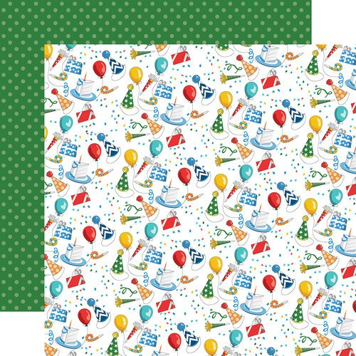 Carta Bella Paper - Let's Celebrate Collection - 12 x12 Double Sided Paper - Party Palooza