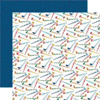 Carta Bella Paper - Let's Celebrate Collection - 12 x12 Double Sided Paper - Hip Hip Hooray