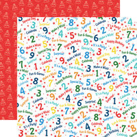 Carta Bella Paper - Let's Celebrate Collection - 12 x12 Double Sided Paper - One Year Older