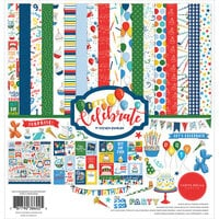 Carta Bella Paper - Let's Celebrate Collection - 12 x12 Collection Kit