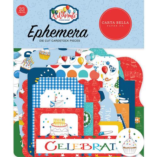 Carta Bella Paper - Let's Celebrate Collection - Ephemera