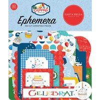 Carta Bella Paper - Let's Celebrate Collection - Ephemera