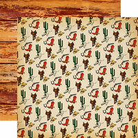 Carta Bella Paper - Cowboy Country Collection - 12 x 12 Double Sided Paper - Open Range