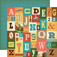 Carta Bella Paper - Cowboy Country Collection - 12 x 12 Double Sided Paper - Howdy