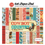 Carta Bella Paper - Cowboy Country Collection - 6 x 6 Paper Pad