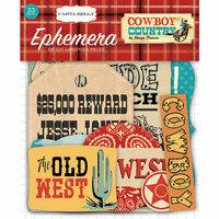 Carta Bella Paper - Cowboy Country Collection - Ephemera