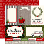 Carta Bella Paper - Christmas Delivery Collection - 12 x 12 Double Sided Paper - 4 x 6 Journaling Cards