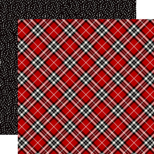 Carta Bella Paper - Christmas Delivery Collection - 12 x 12 Double Sided Paper - Christmas Plaid