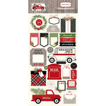 Carta Bella Paper - Christmas Delivery Collection - Chipboard Stickers