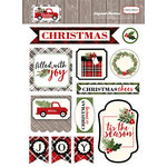 Carta Bella Paper - Christmas Delivery Collection - Layered Stickers