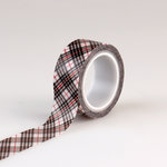 Carta Bella Paper - Christmas Delivery Collection - Decorative Tape - Christmas Plaid