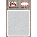Carta Bella Paper - Christmas Delivery Collection - Embossing Folder - Snowflake 1