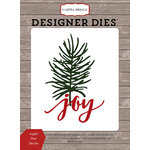 Carta Bella Paper - Christmas Delivery Collection - Designer Dies - Joyful Pine