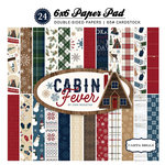 Carta Bella Paper - Cabin Fever Collection - 6 x 6 Paper Pad