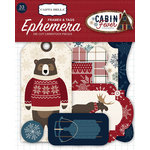 Carta Bella Paper - Cabin Fever Collection - Ephemera - Frames and Tags