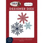 Carta Bella Paper - Cabin Fever Collection - Designer Dies - Winter Wonderland