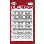 Carta Bella Paper - Cabin Fever Collection - Clear Acrylic Stamps - Arctic Sweater