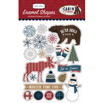 Carta Bella Paper - Cabin Fever Collection - Enamel Shapes
