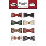 Carta Bella Paper - Cabin Fever Collection - Decorative Bows
