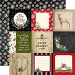 Carta Bella Paper - Christmas Collection - 12 x 12 Double Sided Paper - 4 x 4 Journaling Cards