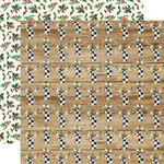 Carta Bella Paper - Christmas Collection - 12 x 12 Double Sided Paper - Cheery Stockings