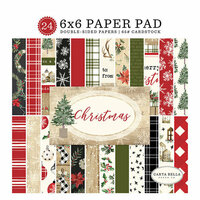 Carta Bella Paper - Christmas Collection - 6 x 6 Paper Pad