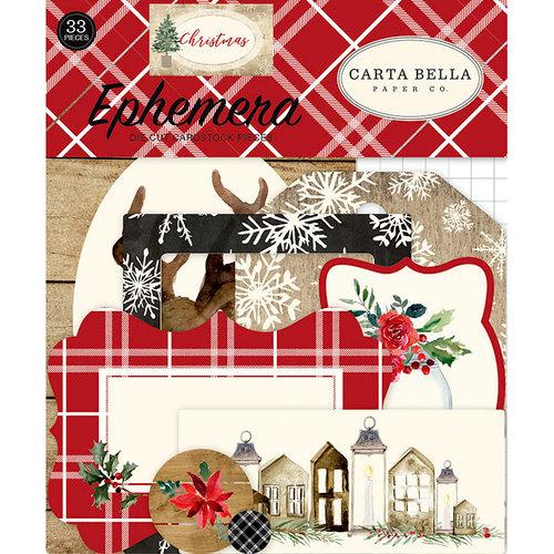 Carta Bella Paper - Christmas Collection - Ephemera