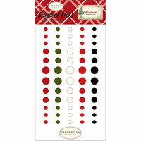 Carta Bella Paper - Christmas Collection - Enamel Dots
