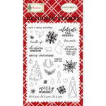 Carta Bella Paper - Christmas Collection - Clear Photopolymer Stamps - Christmas Memories