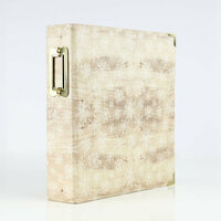 Carta Bella Paper - Christmas Collection - 6 x 8 Album - Wood Snowflake
