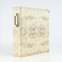 Carta Bella Paper - Christmas Collection - 6 x 8 Album - Wood Snowflake