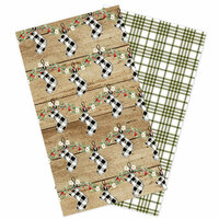 Carta Bella Paper - Christmas Collection - Travelers Notebook Insert - Lined